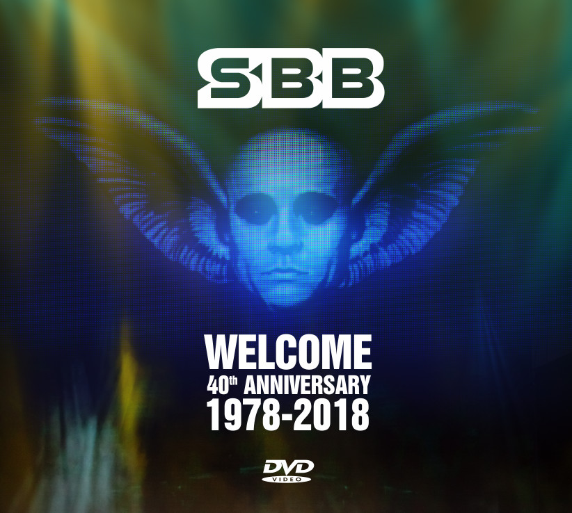 DVD SBB WELCOME 40th ANNIVERSARY 1978-2018